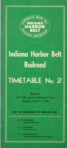 Indiana Harbor Belt Railroad 1969